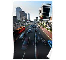 Jl Thamrin - Jakarta - Indonesia Poster