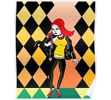 Rocka Rolla Woman Poster