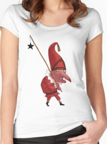 Mr. Punch and the Dark Star Women's Fitted Scoop T-Shirt