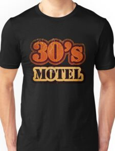 Vintage 30's Motel - T-Shirt Unisex T-Shirt