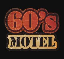 Vintage 60's Motel - T-Shirt by Nhan Ngo