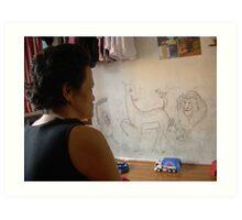 Our Graffiti - Ma Liani Art Print
