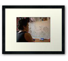 Our Graffiti - Ma Liani Framed Print