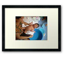 A New Baby - Ma Liani Framed Print