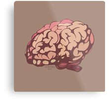 All Brains Metal Print