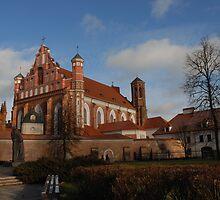 Bernardinai church, Vilnius by Antanas