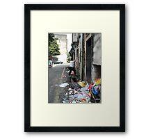 Where we Play - Andrew Framed Print