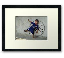 All Smiles - Andrew Framed Print
