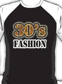 Vintage 30's Fashion - T-Shirt T-Shirt