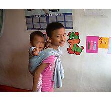 Siblings - Ma Liani  Photographic Print