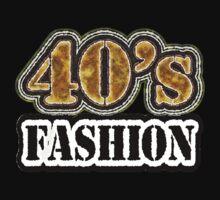 Vintage 40's Fashion - T-Shirt by Nhan Ngo