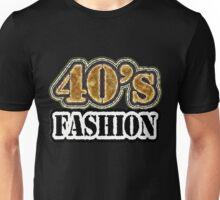 Vintage 40's Fashion - T-Shirt Unisex T-Shirt