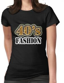 Vintage 40's Fashion - T-Shirt Womens Fitted T-Shirt