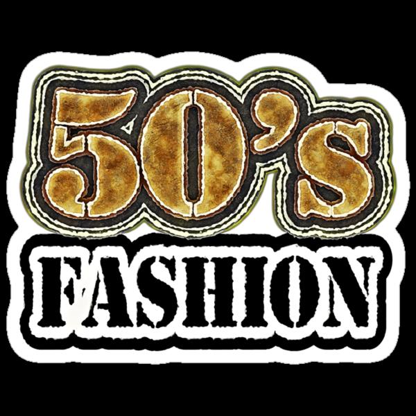 Vintage 50's Fashion - T-Shirt by Nhan Ngo