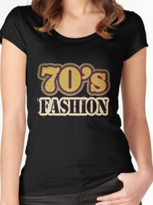 Vintage 70's Fashion - T-Shirt Women's Fitted Scoop T-Shirt