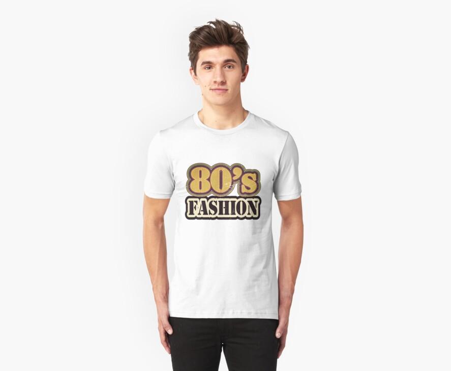Vintage 80's Fashion - T-Shirt by Nhan Ngo