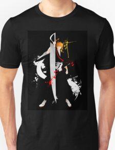 Bleach: Ichigo Kurosaki Giclee Art Print Unisex T-Shirt