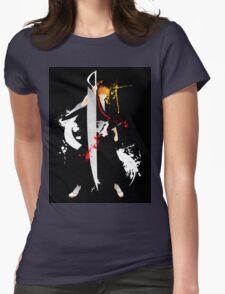 Bleach: Ichigo Kurosaki Giclee Art Print Womens Fitted T-Shirt