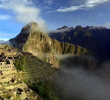 Daybreak on Machu Picchu by Dan Bronish