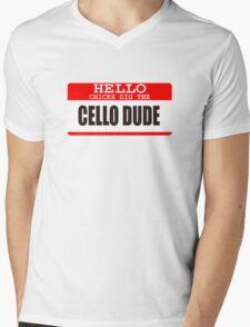 Cello Mens V-Neck T-Shirt