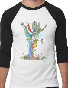 Tree of Life #18 Men's Baseball ¾ T-Shirt