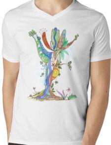 Tree of Life #18 Mens V-Neck T-Shirt