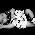 Little Doll B&W Version by JimMcleod