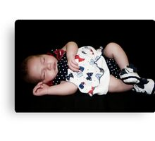 Little Doll Canvas Print