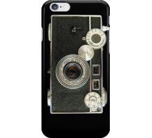 Vintage rangefinder camera iPhone Case/Skin