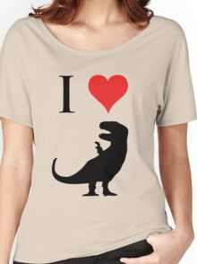 I Love Dinosaurs - T-Rex Women's Relaxed Fit T-Shirt