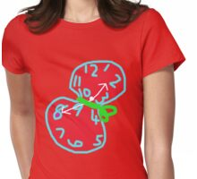TIME WASTER TEE/BABY GROW/STICKER Womens Fitted T-Shirt
