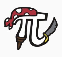 Pi Pirate Kids Tee