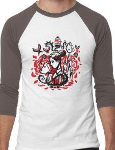 Princess of the Rose Men's Baseball ¾ T-Shirt