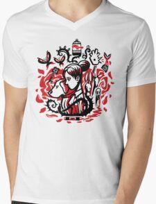 Princess of the Rose Mens V-Neck T-Shirt
