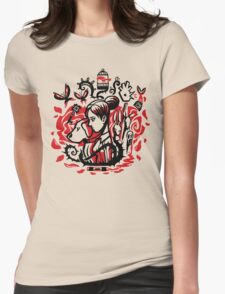 Princess of the Rose Womens Fitted T-Shirt