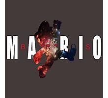 Space Air Mario Photographic Print