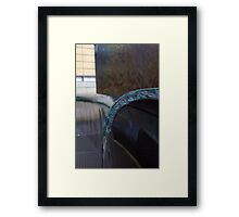 Pouring From The Bench.. Framed Print