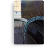 Pouring From The Bench.. Canvas Print