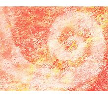 Pink Swirl Abstract Painting Photographic Print