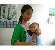 Caregiver - Ma Liani Photographic Print