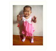 Cute Baby - Ma Liani Art Print