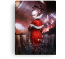 The Telekinetic Greeting the Mothership Canvas Print