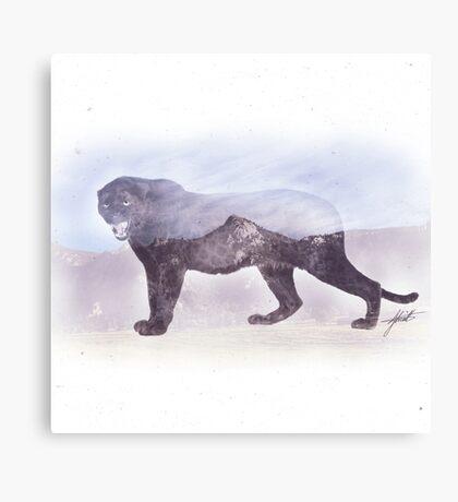 Mountain Panther Canvas Print