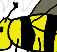 Bee buzzing Sticker