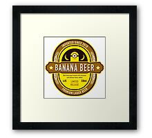 Banana Drink Framed Print