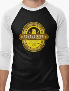 Banana Drink Men's Baseball ¾ T-Shirt