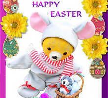 A Happy Easter from Fred Bear by missmoneypenny