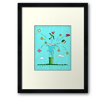 Plumbing Problems ? Framed Print