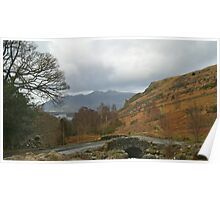 Ashness Bridge Borrowdale (Lake District National Park) Poster