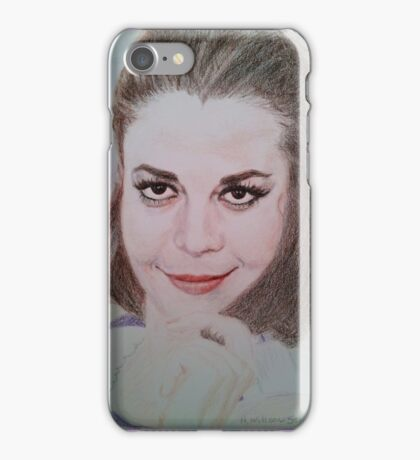 Natalie Relaxing iPhone Case/Skin